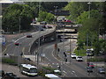 ST3188 : Newport - View towards Old Green Interchange from multi storey car park by Colin Park