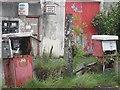 N1049 : Pumps, Molloy's Garage by Richard Webb