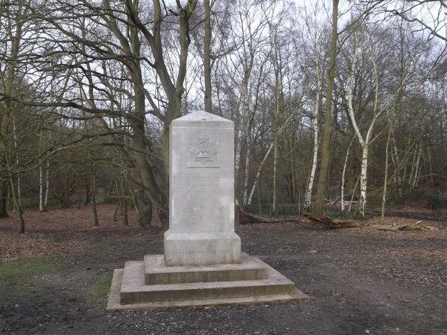 The Queens Royal Surrey Regiment Memorial, Wimbledon Common