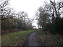 TQ2273 : Path to Portsmouth Road by David Anstiss