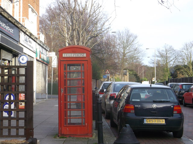 Telephone Box, Putney Heath