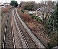 ST3093 : Location of the demolished Llantarnam railway station by Jaggery