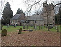 ST3093 : North side of Grade II* listed Church of St Michael and All Angels, Llantarnam by Jaggery