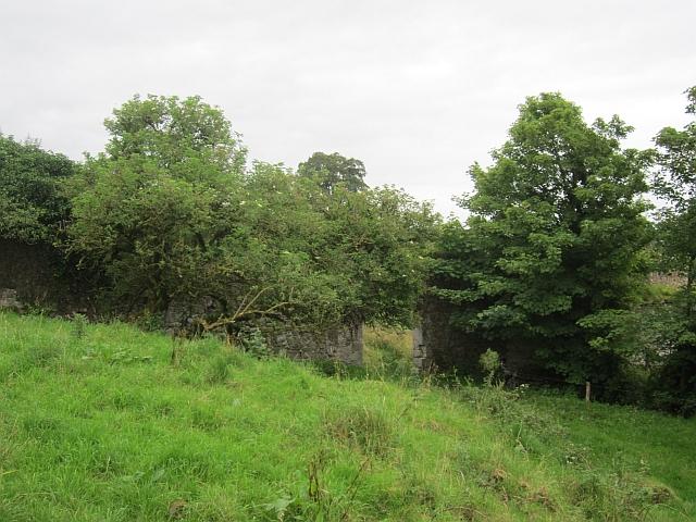 Ruin of a walled garden