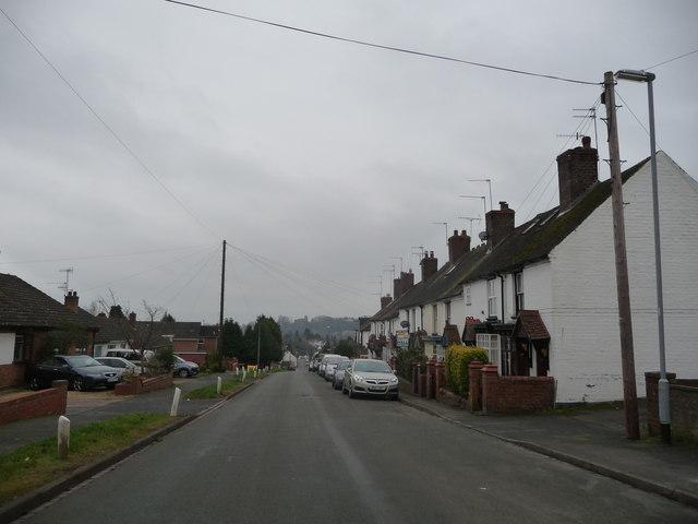 Part of Enville Road, Kinver