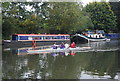 TQ3488 : Rowers on the River Lea by N Chadwick