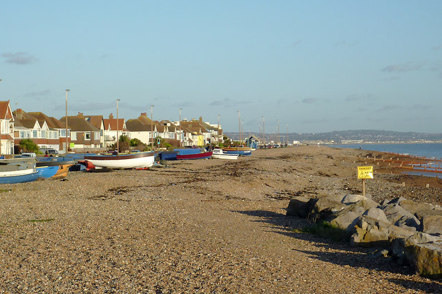 The beach at Worthing, West Sussex