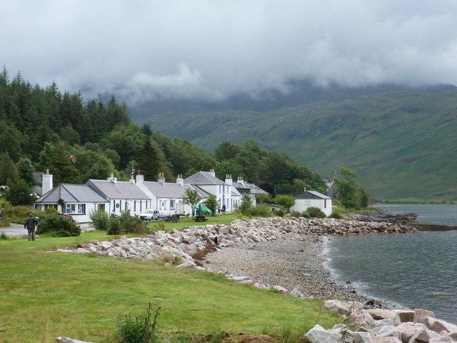 Inverie: a shoreline view to the village