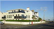 TQ1602 : New flats in Worthing, West Sussex by Roger  Kidd