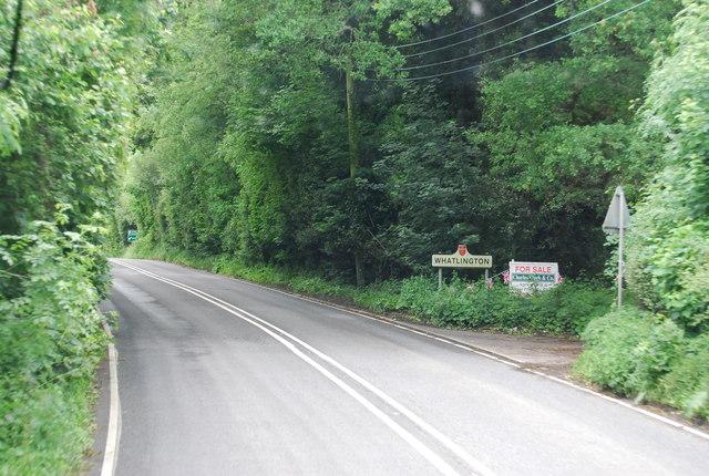 A21 entering Whatlington