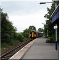 ST5276 : Departure from Shirehampton railway station, Bristol by Jaggery