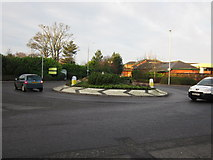 NS3421 : Roundabout at Morrisons by Billy McCrorie