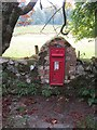 NM7235 : Post box, Torosay by Richard Webb