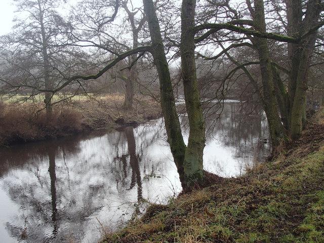 River Derwent north of Rowsley