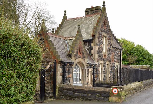 Gate lodge, the People's Park, Ballymena... © Albert ...