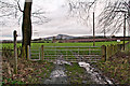 SO5476 : Footpath from Henley  by Ian Capper