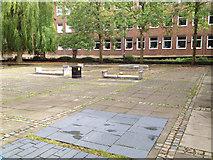 SP3378 : Courtyard, Civic Centre, Earl Street CV1 by Robin Stott