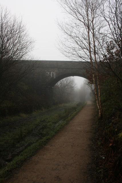Misty day on the Longdendale Trail
