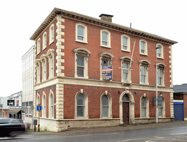 Former bank and Crown Buildings, Ballymena