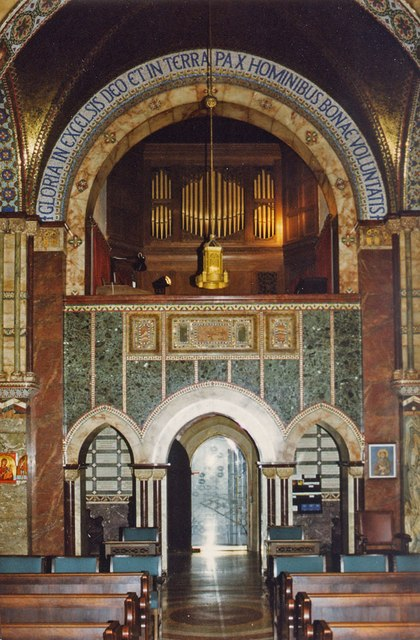 Chapel of the Middlesex Hospital, Mortimer Street - West end