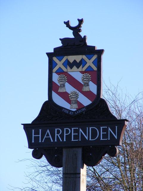 Harpenden Town Sign