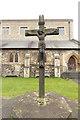 TQ2486 : All Saints, Church Walk - Calvary by John Salmon
