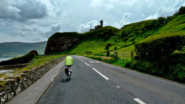 On the Antrim Coast Road.