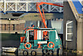 """J3474 : The """"Port Constructor"""", Belfast by Albert Bridge"""