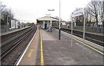 TQ2575 : Wandsworth Town railway station, London by Nigel Thompson