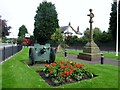 SJ4682 : Hale War Memorial Triangle by Rude Health