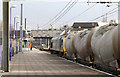 TQ2081 : Cement Tanks at Acton by Martin Addison
