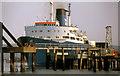 "D4102 : The ""Europic Ferry"" at Larne (1988) by Albert Bridge"