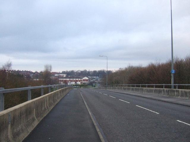 The A139 towards Norton
