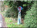 ST0996 : Quaker's Yard signpost by John Light