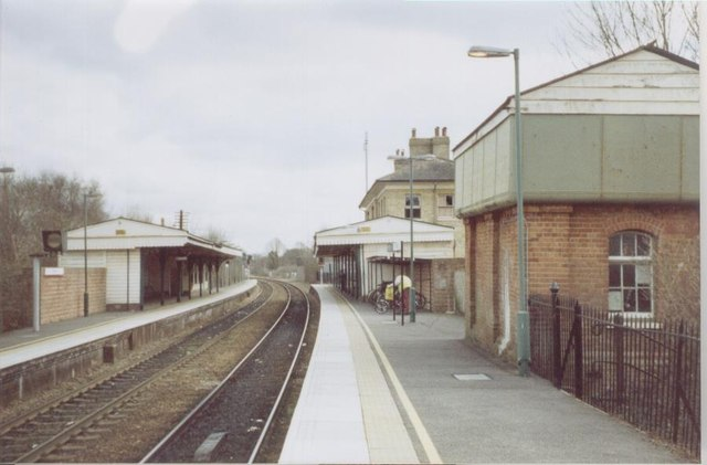 Romsey railway station, Hampshire
