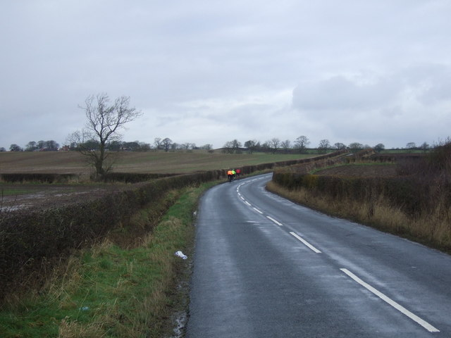 Minor road towards Great Stainton