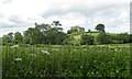 ST6694 : View towards Troughtons from Woodend Lane by Robin Stott
