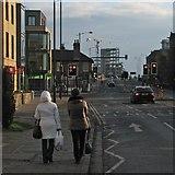 TL4557 : Hills Road: traffic lights at Brooklands Avenue by John Sutton