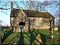 ST4698 : The Church of the Holy Cross at Kilgwrrwg, Monmouthshire by Jeremy Bolwell
