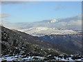 SH7112 : Looking towards Mynydd Ceiswyn from Craig Lwyd by Nigel Brown