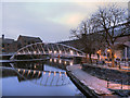 SJ8397 : Castlefield Basin, The Merchant's Bridge by David Dixon