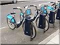 """TQ2980 : """"Boris bikes"""", Charles II Street by Oliver Dixon"""