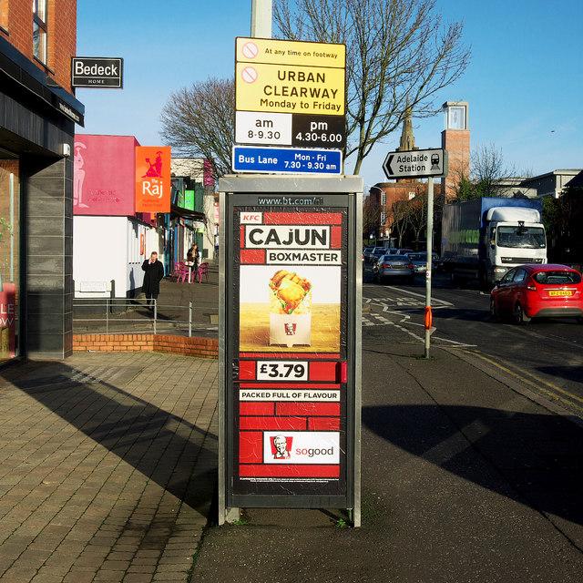 Telephone call box, Belfast