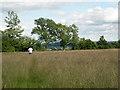 ST6595 : Running through long wet grass by Robin Stott