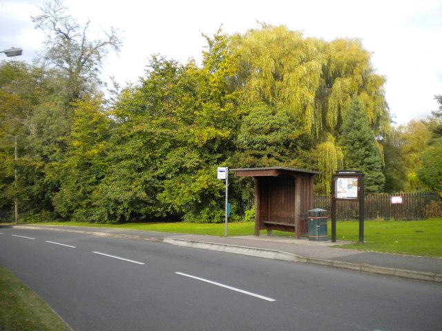 Bus stop on Church Hill, Scraptoft