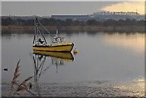 TA0423 : Sailing Club lake, near Barton upon Humber by Paul Harrop