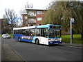 SP3375 : Confused bus, Charminster Drive, Fenside by Richard Vince