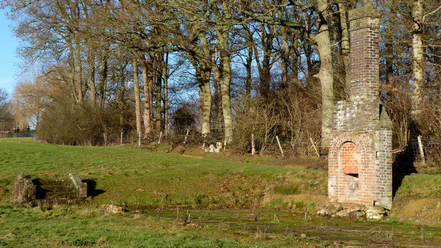 Ruin of a possible hunting lodge