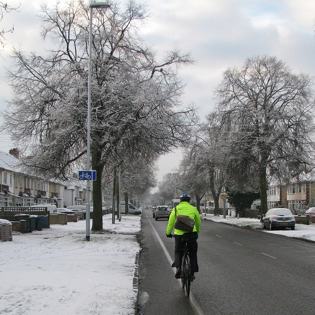 A winter morning on Mowbray Road