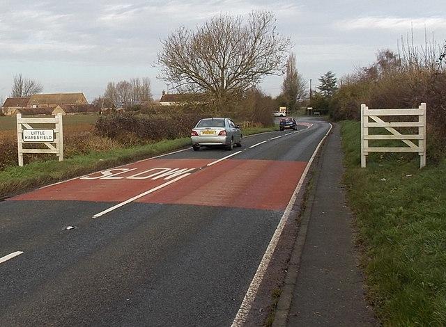 Little Haresfield boundary